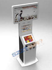 چین ZT2222 Large Dual Screen Bill Payment Kiosk with Cash Acceptor & card issuing تامین کننده
