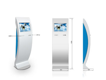 Retail Mall Kiosk ZT2409 Lobby Kiosk with barcode scanner & Information inquiry