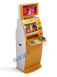 Multifunctional Ticket Vending Kiosk with ticketing issuing & card pringting ZT2910
