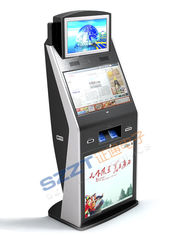 ZT2782 High Safety Large Screen lobby Ticket Vending Kiosk with card reader