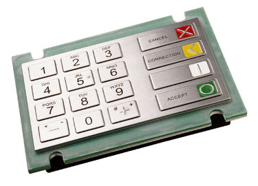 Waterproof PCI EPP 2.x certified EPP Keypad ZT596E with 10 Numeric Keys