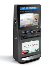 ZT2781 High Safety Large Screen lobby Ticket Vending Kiosk, Card Reader Kiosk For Ticket Printing