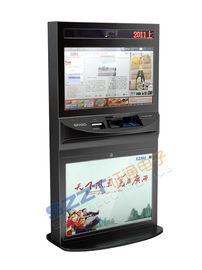 ZT2781 Retail Mall Kiosk  High Safety Interactive Payment,  Advertising Kiosk